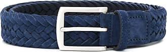 Scarosso Cinto com fivela quadrada - Azul