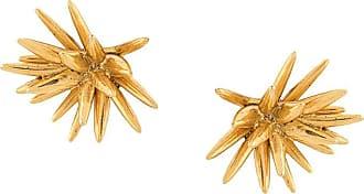 Oscar De La Renta Star stud earrings - GOLD
