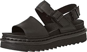 Dr. Martens Womens Voss Sling Back Sandals, Black (Black Hydro Leather 001), 6.5 UK (40 EU)