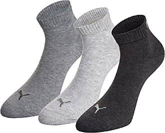 6 Paar PUMA Sneaker oder Quarter Socken Kurzsocken UNISEX  grau anthrazit 800