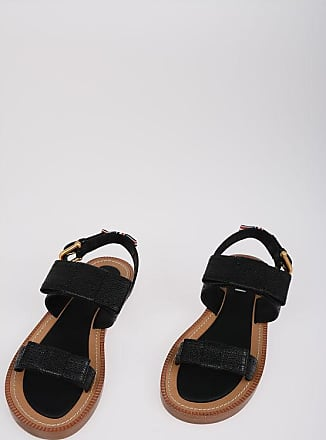 Thom Browne Leather Sandals with Bows Größe 38,5