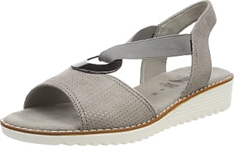 Jenny Womens Belize T-Bar Sandals, Grey Smoke, 7 UK
