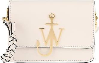 J.W.Anderson Anchor Braided Logo Bag Marble Umhängetasche weiß