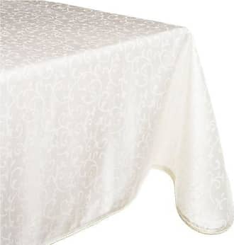Lenox Opal Innocence 60x140 Oblong Tablecloth, White