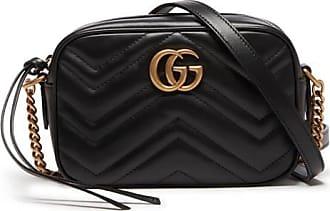 Gucci Mini sac caméra GG Marmont en cuir matelassé