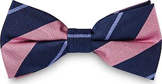 TND Basics Papillon rosa e blu pastello in seta con fantasia a righe 6e559860c2e3