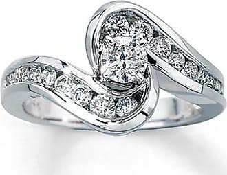 Kay Jewelers Diamond Engagement Ring 3/4 ct tw Round-Cut 14K White Gold