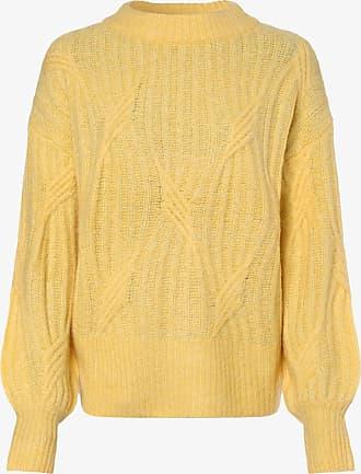 Y.A.S Damen Pullover mit Alpaka-Anteil - Yaspixie gelb