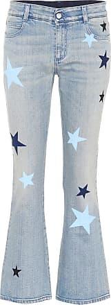 Stella McCartney Star-printed flared jeans