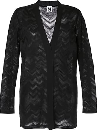 448ff7ce33ca M Missoni zig-zag patterned cardigan - Black