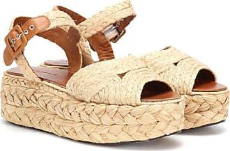 Robert Clergerie Aude raffia sandals