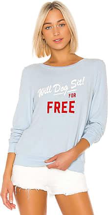 Wildfox Womens WFL19084P The Mistletoe Sweatshirt Pink