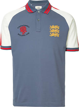 Kent & Curwen classic shortsleeved polo shirt - Blue
