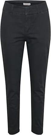 black Kylie 285 Crop Flash Bukse  FIVEUNITS  Slim-fit bukser - Dameklær er billig