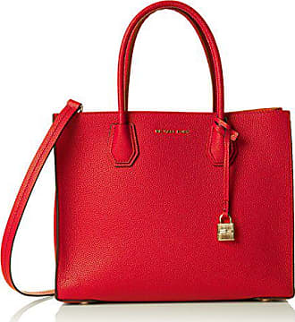768e751e80 Michael Kors Mercer, Cabas femme, Rouge (Bright Red), 12.7x21.