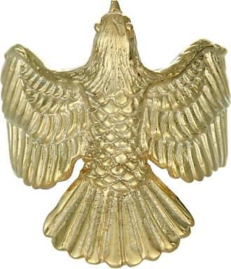 Zoe & Morgan Gold Falcon Ring - Medium - Gold