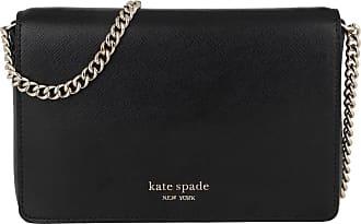 Kate Spade New York Spencer Chain Wallet Black Umhängetasche schwarz
