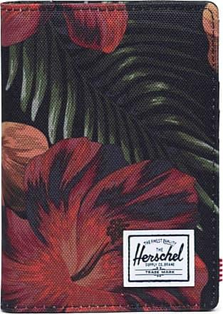 Herschel Herschel Raynor Passport Holder RFID Tropical Hibiscus