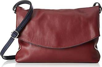 fe8cca951b EDC by Esprit 029ca1o007, Sacs bandoulière femme, Rouge (Garnet Red),  4x20x30