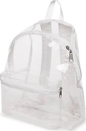 Eastpak Transparent Padded PakR Backpack 14? white