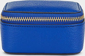 Anya Hindmarch Bespoke Small Keepsake Box Capra in Electric Blue