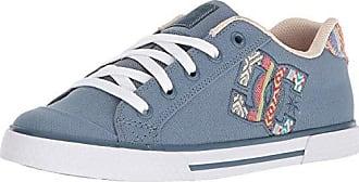 70a4bb26cb4a9c DC Womens Chelsea TX SE Skate Shoe Blue White