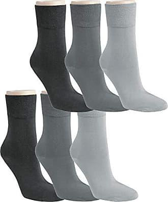 6 Paar Socken Sneaker Kurzschaft Bambus Viskose ohne Gummi Damen Herren