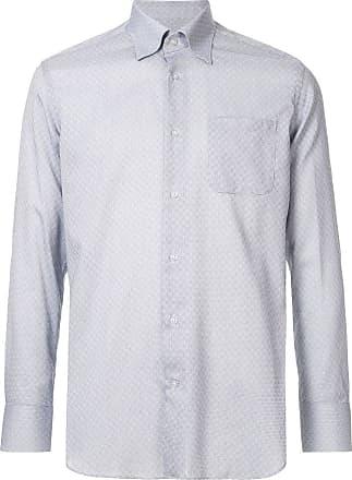 Durban Camisa com estampa - Azul