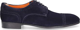 Santoni Flat Shoes Blue 16318