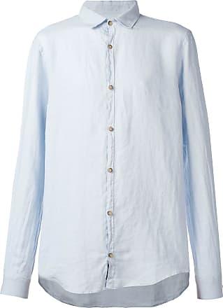 Ecoalf Camisa Casey com gola colarinho - Azul