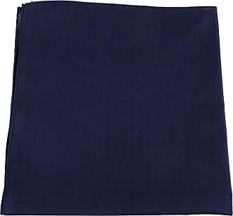 Hat To Socks Plain Bandana Hair Tie Neck Wrist Band (navy)