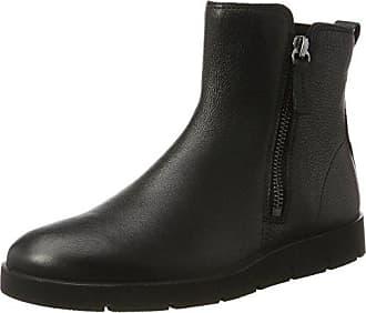 Ecco Womens Womens Bella Zip Boot Ankle Bootie, Black, 37 EU / 6-6.5 US