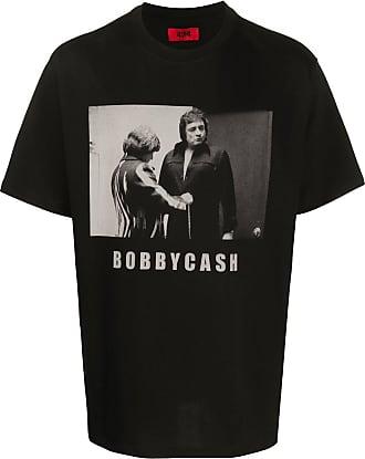 424 T-Shirt mit Bobby Cash-Print - Schwarz