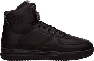 Emporio Armani EA7 Men high-top Sneakers matt Black 9 UK
