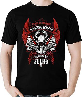 Dragon Store Camiseta Homens de Julho os Melhores Signo Câncer