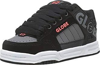 best sneakers 2a3c8 54ae6 Globe Tilt-Kids, Chaussures de Skateboard Garçons, Gris (Black Red