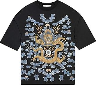 Fenty Puma by Rihanna Camiseta oversized com estampa de dragão - Preto