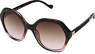Jessica Simpson Womens J5656 Tsrs Non-Polarized Iridium Round Sunglasses, Tortoise Rose, 68 mm
