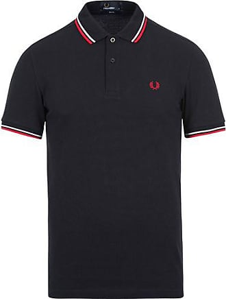 Fred Perry Slim Fit Polo Twin Tip Navy a009f73afc69c