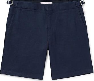 Orlebar Brown Norwich Slim-fit Linen Shorts - Navy