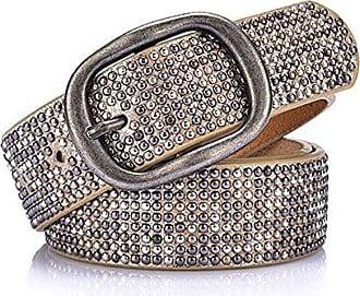 Damen Metall dekorativen Gürtel Ledergürtel Jeansgürtel Taillengürtel