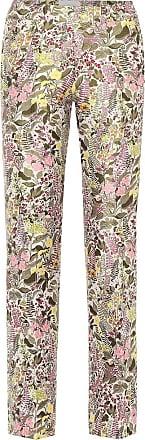 Giambattista Valli High-rise straight floral pants