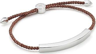 Monica Vinader Linear Large Friendship bracelet - Brown