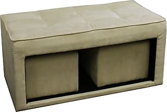 ORE 16.5 Storage Ottoman with 2 Hidden Seating