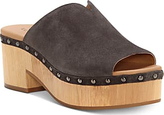 Lucky Brand Womens Simbrenna Peep Toe Clogs, Periscope, Size 11.0 US / 9 UK US
