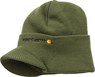 2083c0a2 Carhartt Work in Progress Mens Knit Hat With Visor,Army Green,One Size