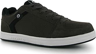 452781915e Airwalk Mens Brock Skate Shoes Lace Up Suede Accents Sport Casual Trainers  Brown UK 10.5