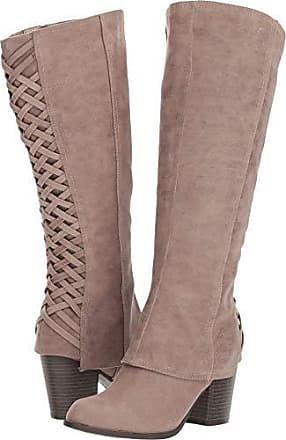 561a23722d1b Fergalicious Womens Tootsie Wide Calf Knee High Boot doe 5.5 M US