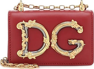 Dolce & Gabbana DG Girls Mini leather shoulder bag