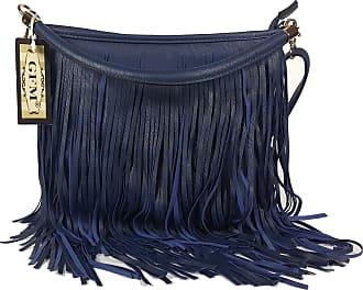 GFM Faux Leather Tassel Bag (F1618-GHNL-00) With Soft Fringes Tassels on Both Sides Shoulder bag Also available in Navy, Black, Light Grey, Brown, Purple,